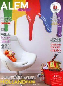 cover of alem dekor turkey magazine september 2013 issue