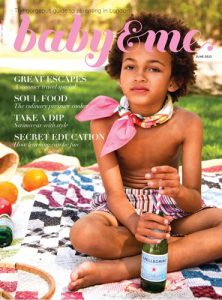 cover of baby and me magazine june 2013 issue
