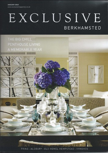 cover of exclusive berkhamsted magazine january 2013 issue