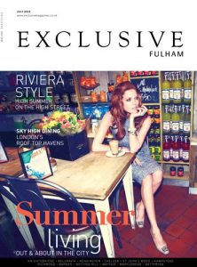 cover of exclusive fulham magazine july 2013 issue
