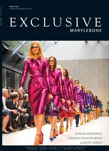 cover of exclusive marylebone magazine march 2013 issue