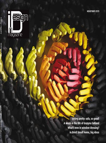 cover of in design magazine november 2013 issue