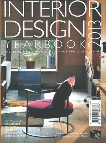 cover of interior design yearbook 2013 consumer edition