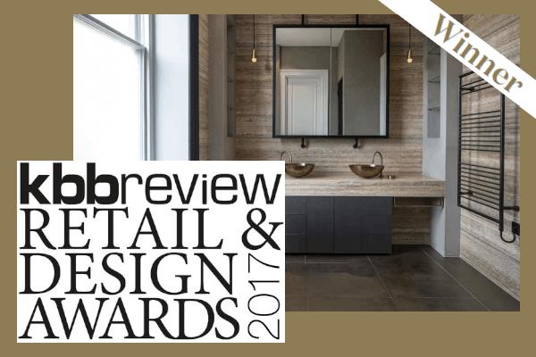 Roselind Wilson Design kbbreview Retail & Design Awards 2017 bathroom