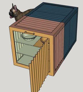 bowwow haus london kennel render roselind wilson design