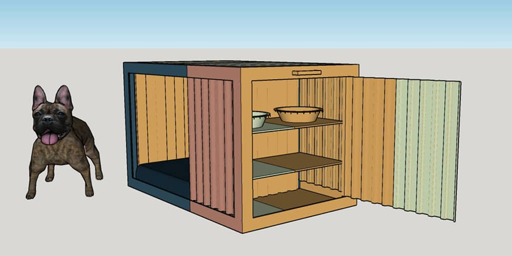 kennel design for bowwow haus london by roselind wilson design