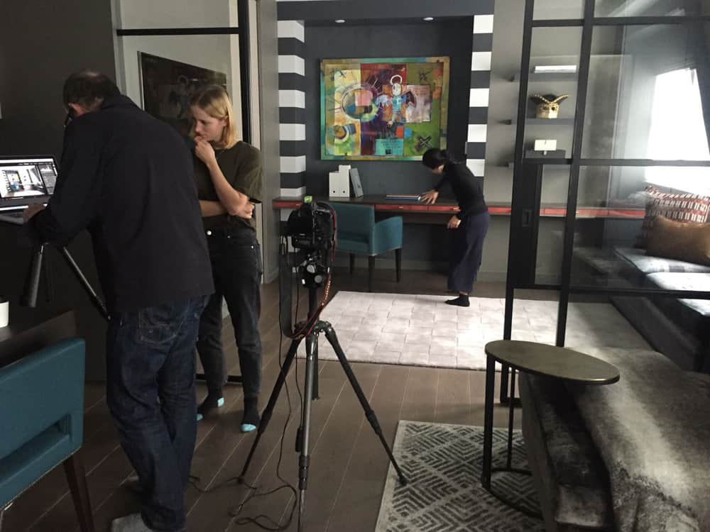 interior photo shoot london pied a terre roselind wilson design