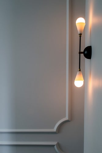 sconce accent lighting used in a belsize park project by roselind wilson design