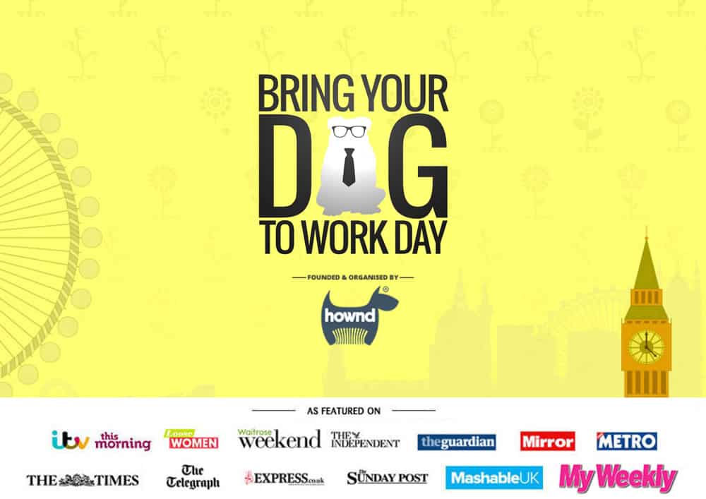 bring your dog to work day 2018