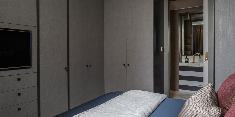 master bedroom fitzrovia apartment roselind wilson design
