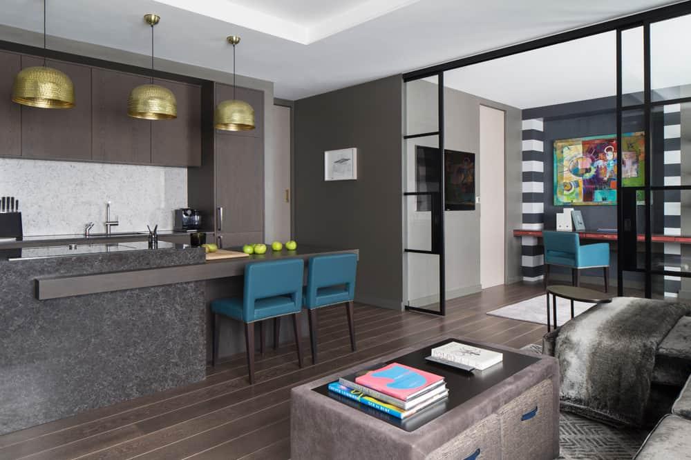 multi-functional living-space luxury apartment redesign fitzrovia roselind wilson design