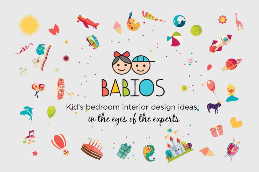 kids bedroom interior design ideas in collaboration with babios