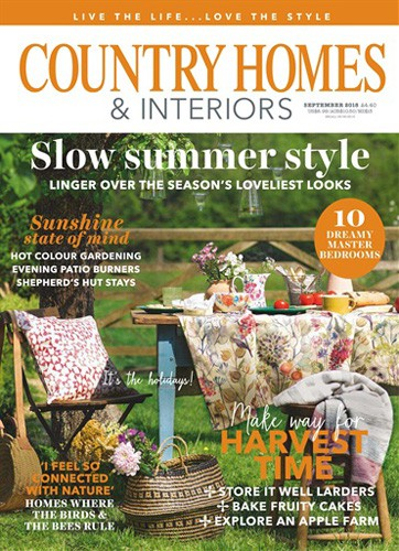country homes and interiors magazine cover september 2018 issue