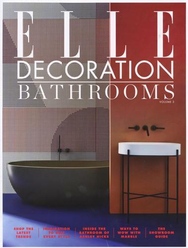 elle decoration bathroom supplement cover october 2018