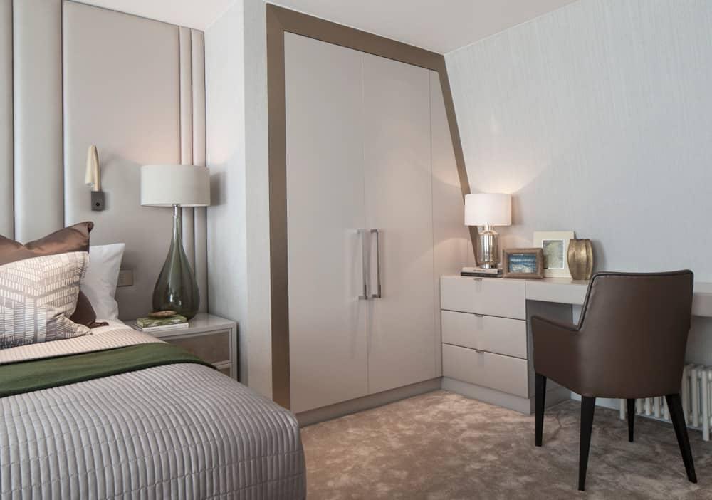 clever storage smart spaces bedroom by roselind wilson design