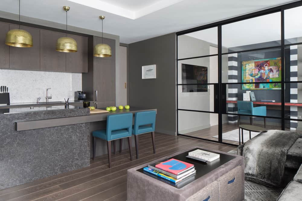 clever storage smart spaces open plan kitchen by roselind wilson design