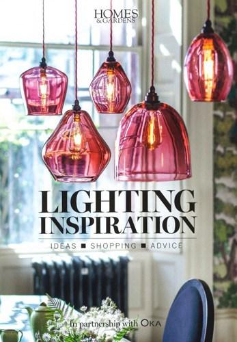 homes and gardens magazine lighting inspiration supplement