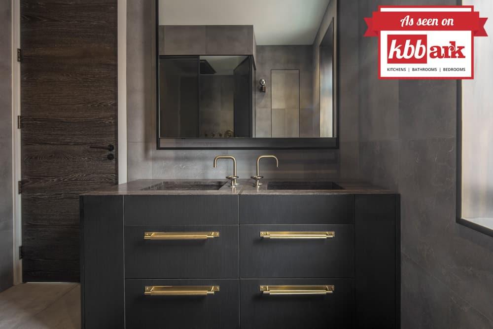 industrial bathroom makeover by roselind wilson design