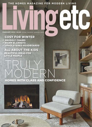 Livingetc magazine cover February 2019