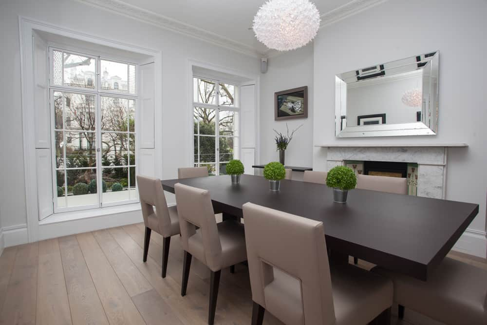 dining room greenery roselind wilson design