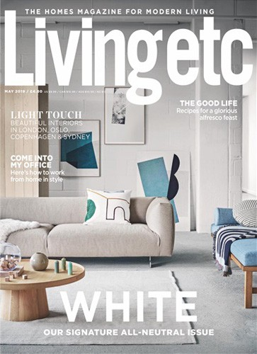 livingetc magazine may 2019 issue cover