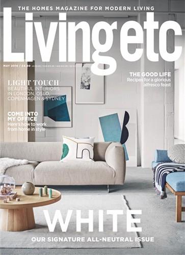 livingetc magazine may 2019 issue cover