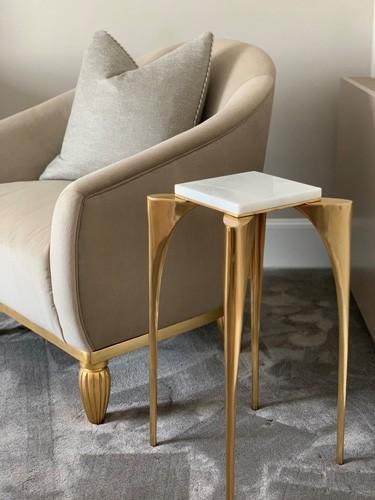bespoke side table design details roselind wilson design