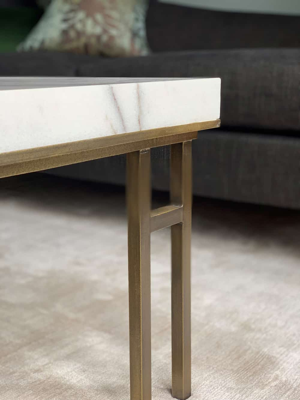 design details marble coffee table roselind wilson design