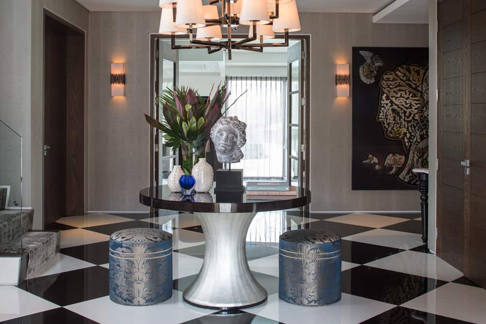 luxury entrance lighting roselind wilson design