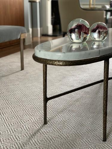 oval marble table design details roselind wilson design
