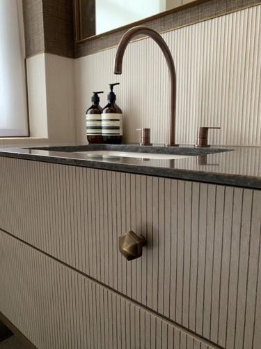 textured bathroom design details roselind wilson design