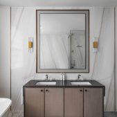 Roselind Wilson Design Carlton Hill elegant master bathroom details