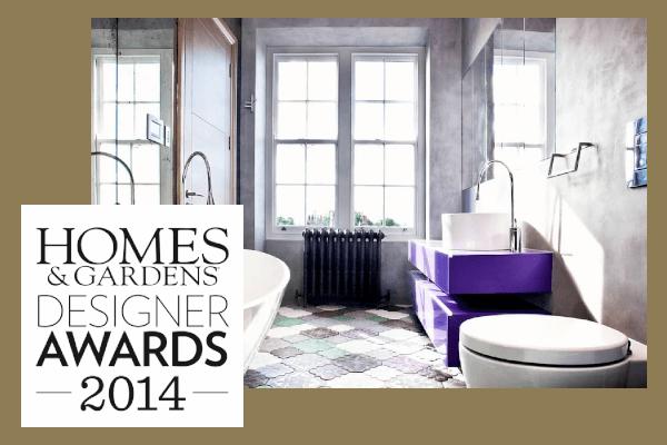 Roselind Wilson Design Homes & Gardens Designer Awards 2014