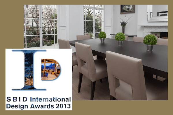 Roselind Wilson Design SBID International Design Awards 2013