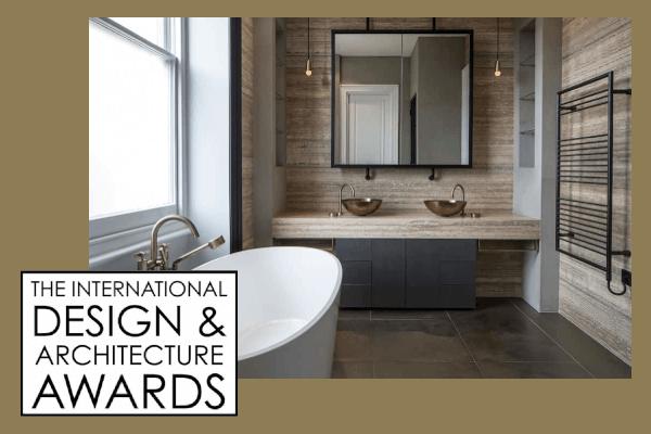 Roselind Wilson Design The International Design & Architecture Awards 2017 bathroom