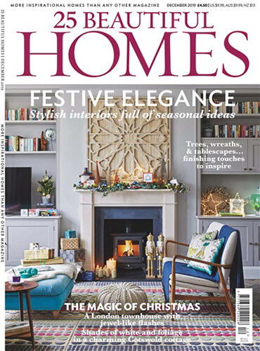 25 beautiful homes magazine cover december 2019