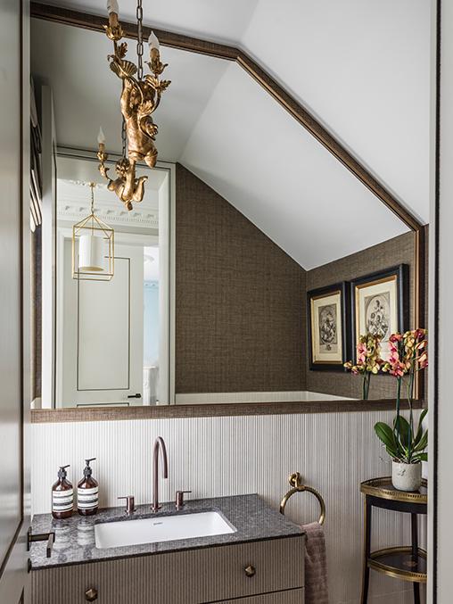 wall-to-wall bespoke bathroom mirror