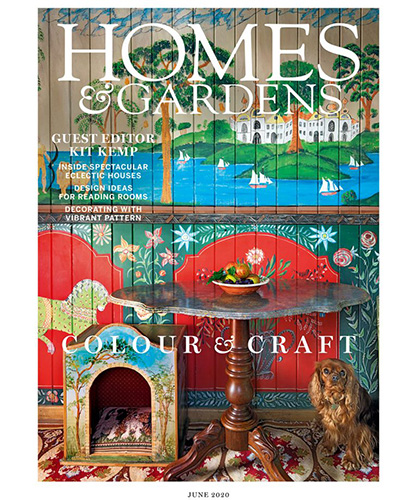 homes and gardens magazine cover june 2020