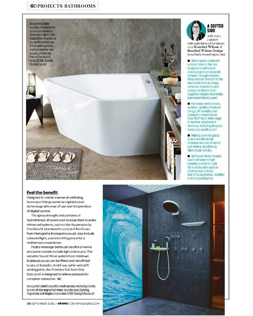 grand designs spa bathrooms expert comment