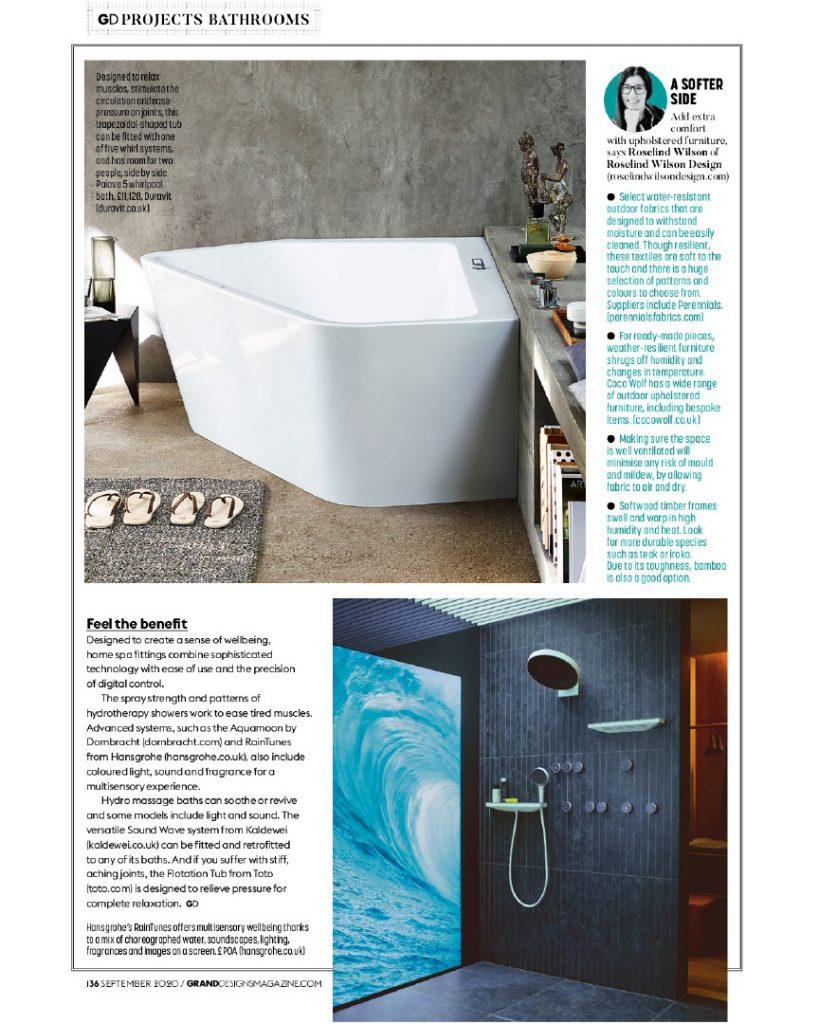 grand designs spa bathrooms expert comment