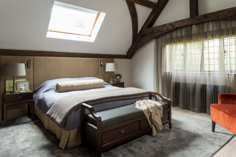 Bedroom lighting ideas for period architecture