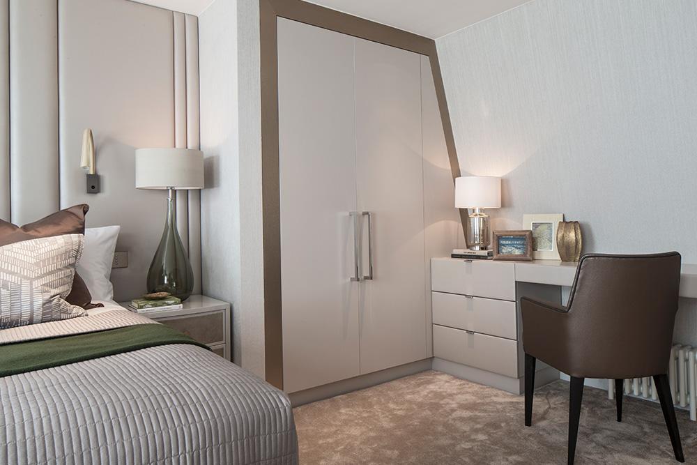 Guest bedroom storage ideas